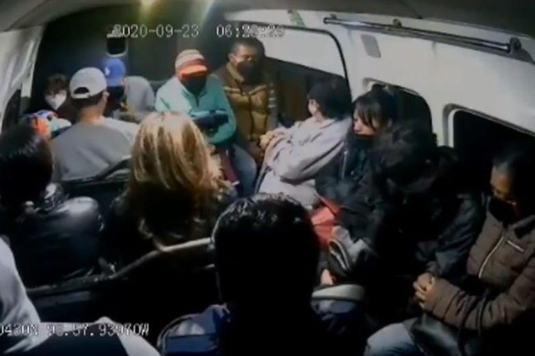 'Que la Santa Muerte te lo multiplique', responde pasajera a asaltantes