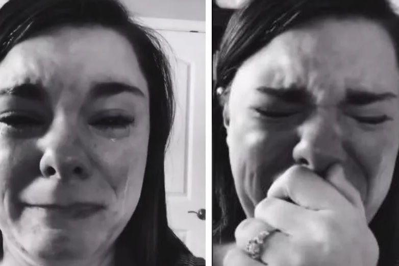 Madre llora porque no fueron a la fiesta de su hijo con síndrome de Down
