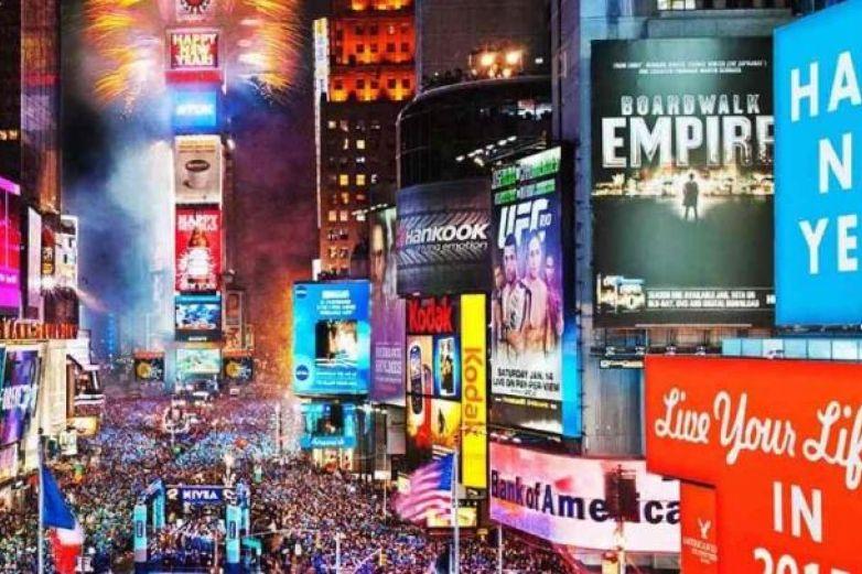 Cancelan por primera vez en 114 años fiesta de Año Nuevo en Times Square