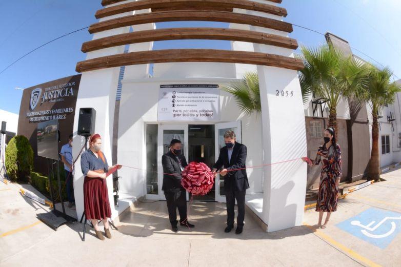 Abre nuevo Tribunal Superior de Justicia en Cuauhtémoc