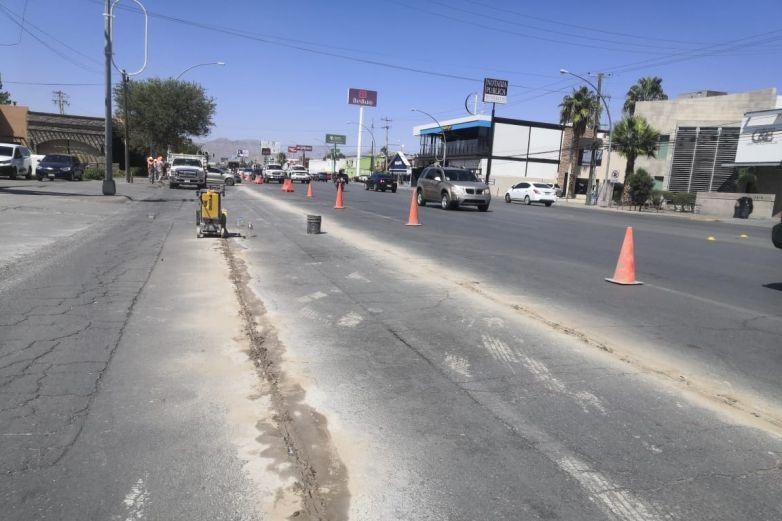 Arranca JMAS obras en la Gómez Morín; cierran carriles