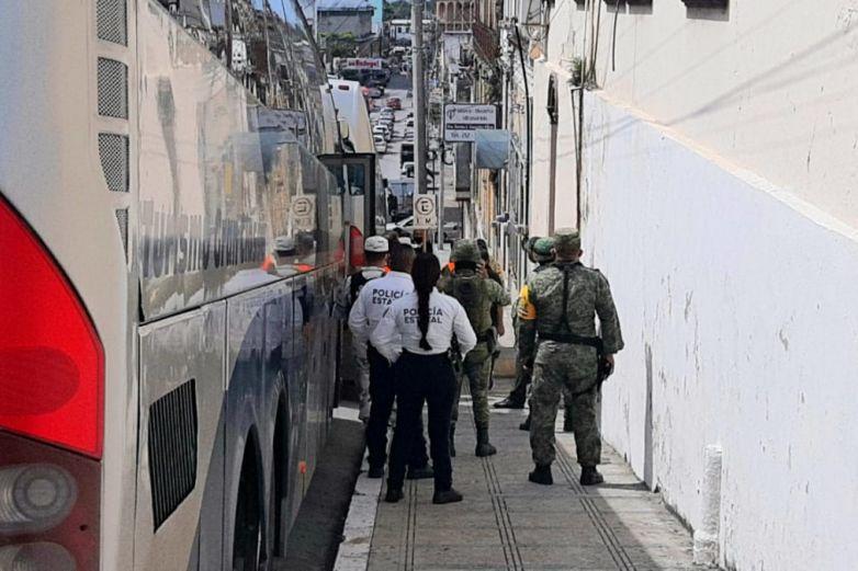 Blindan traslado de 150 migrantes centroamericanos en Tampico