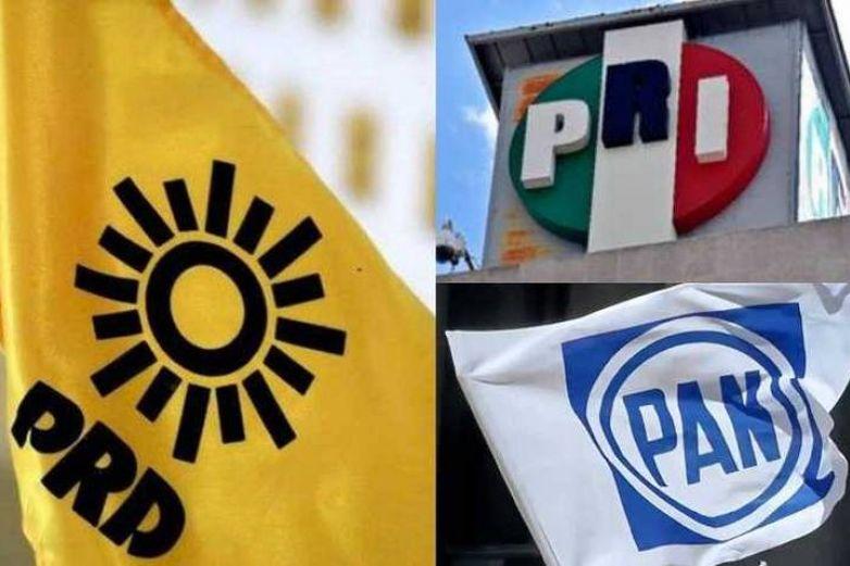 Preparan alianza PRD, PAN y PRI para cuatro gubernaturas