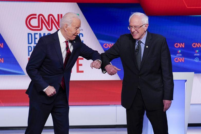 Seguidores de Sanders ayudan a Biden a cortejar a hispanos