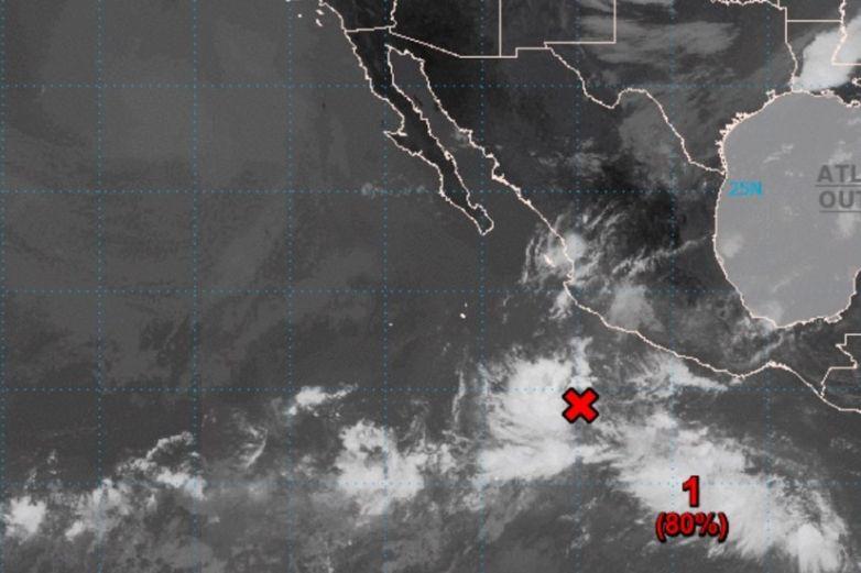 Se forma depresión tropical Dieciocho-E frente a costas de Michoacán