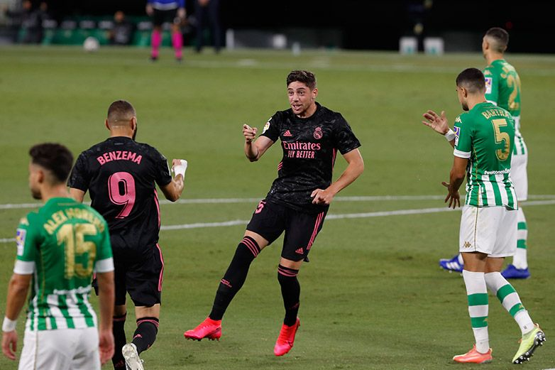 En Real Madrid los goles los hacen sus volantes y defensas