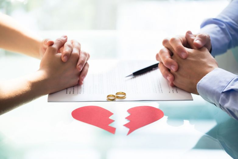 Estos son los estados con más divorcios
