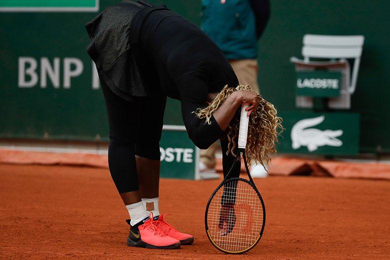 Serena Williams deja Roland Garros por lesión en tendón de Aquiles