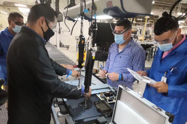 Abre Keytronic nueva planta en Juárez