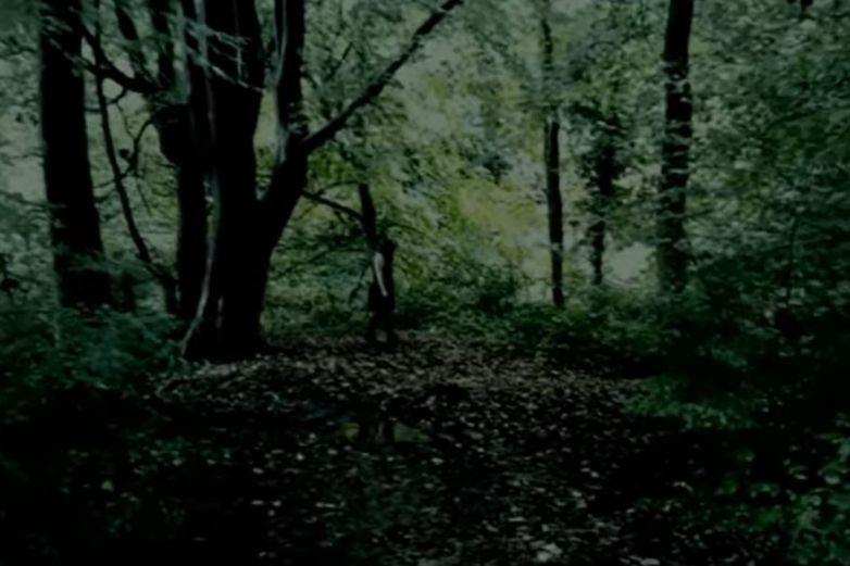 Hombre capta en video a 'niña fantasma de ojos negros'