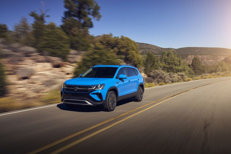 ¡Hecha en México! Volkswagen presenta la nueva Taos 2022