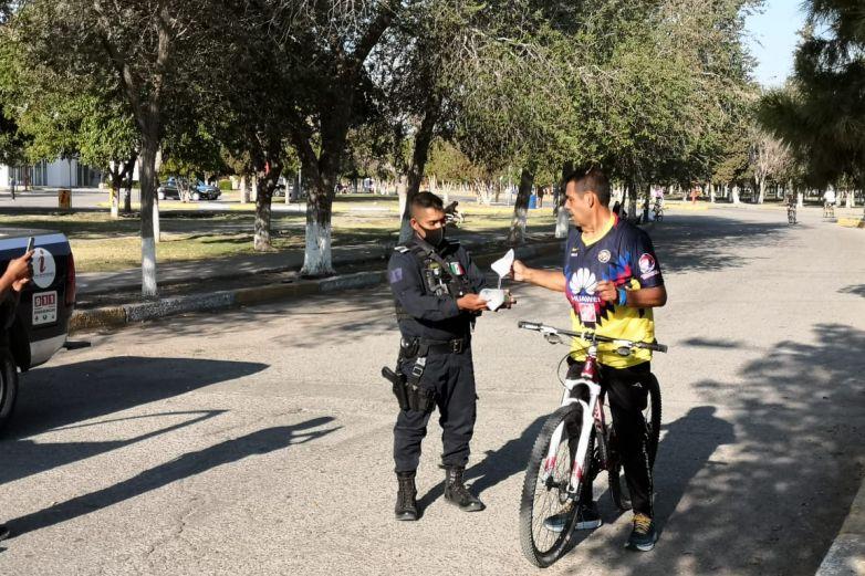 Continúa ciclovía recreativa en El Chamizal