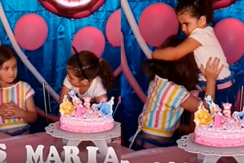 ¡Son hermanas! Revelan parentesco de niñas virales