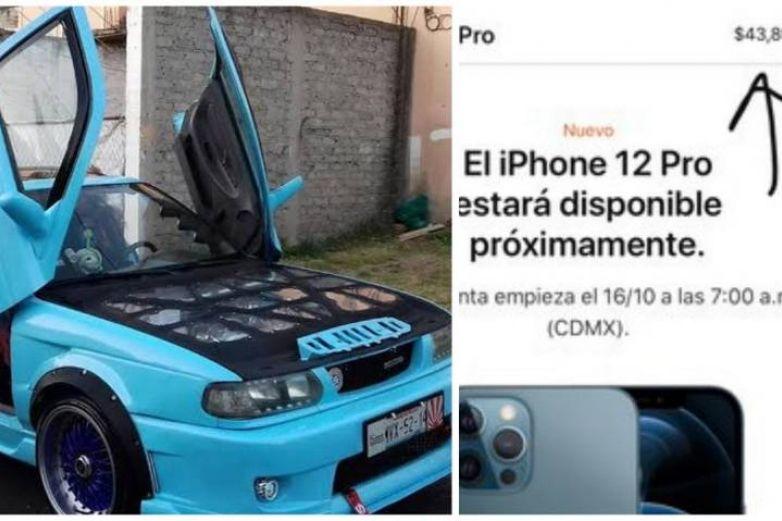 'Mejor compro un Tsuru', Twitter responde al precio del iPhone 12