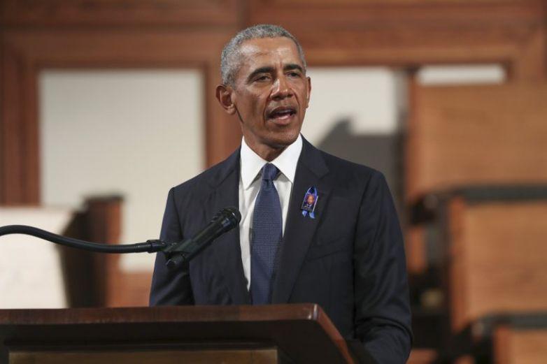 Obama realiza su primer acto presencial en apoyo a Biden