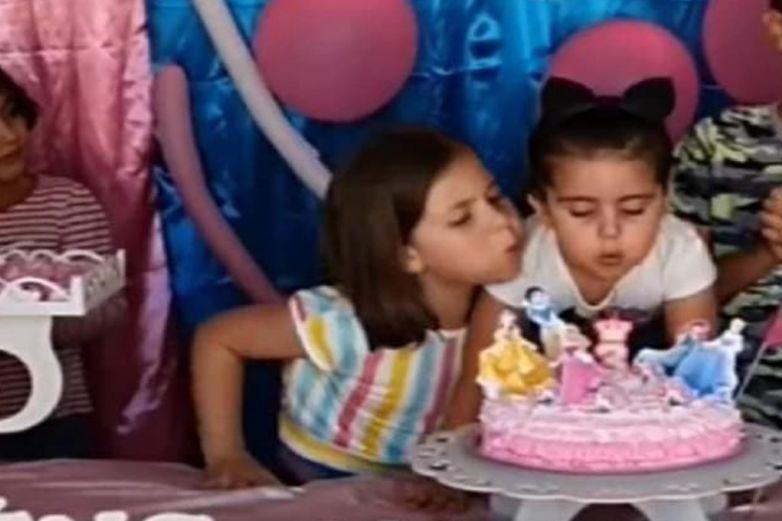 Difunden el video completo de 'la niña del pastel'