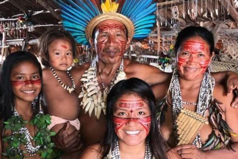 Indígena del Amazonas muestra su cultura en Tik Tok