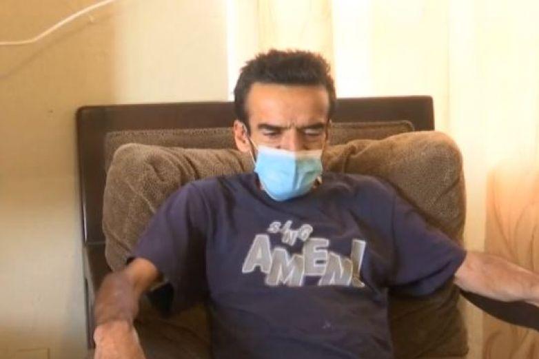 Video: Lo internan por problemas del intestino y lo atienden por Covid
