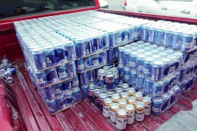 Decomisan mil 344 cervezas a particular
