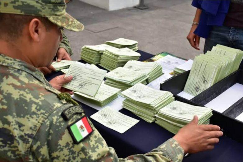 Entregará Sedena en enero cartillas militares en Parral