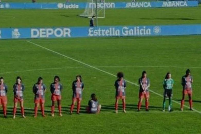 Jugadora española amenazada por protestar contra Maradona