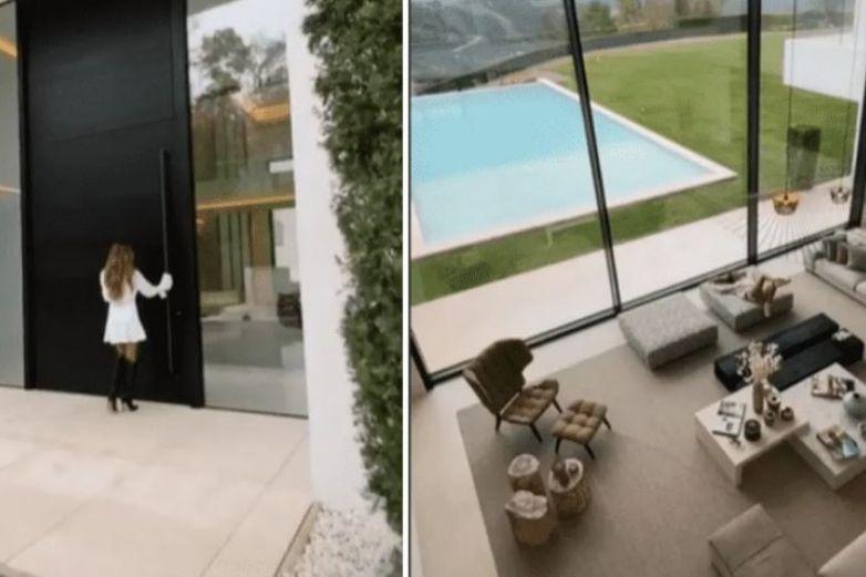 Influencer muestra su casa de 14 millones de dólares y se vuelve viral