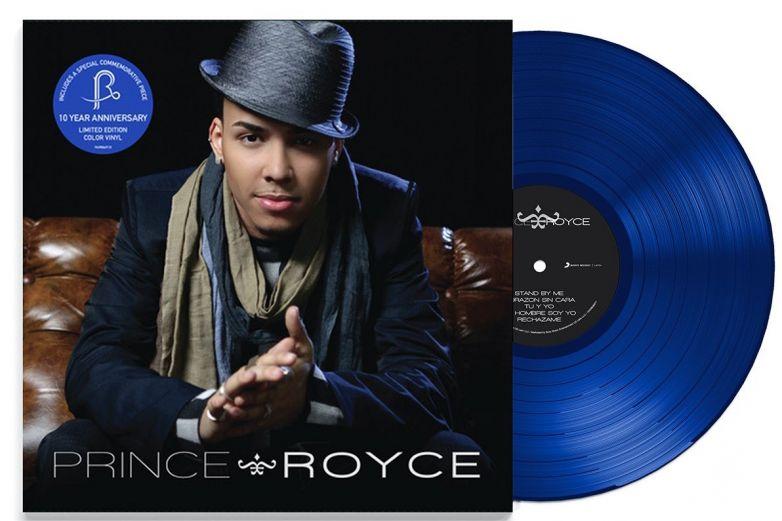Prince Royce lanza vinilo por el 10 aniversario de su primer disco