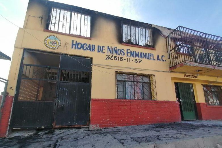 Sin determinar causas de incendio en Casa Hogar Emmanuel
