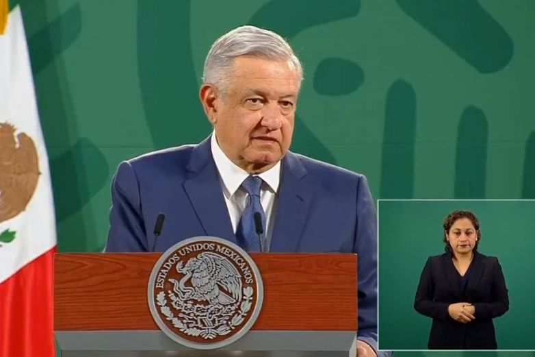Estatua de la Libertad está 'verde de coraje' por censura a Trump: López Obrador