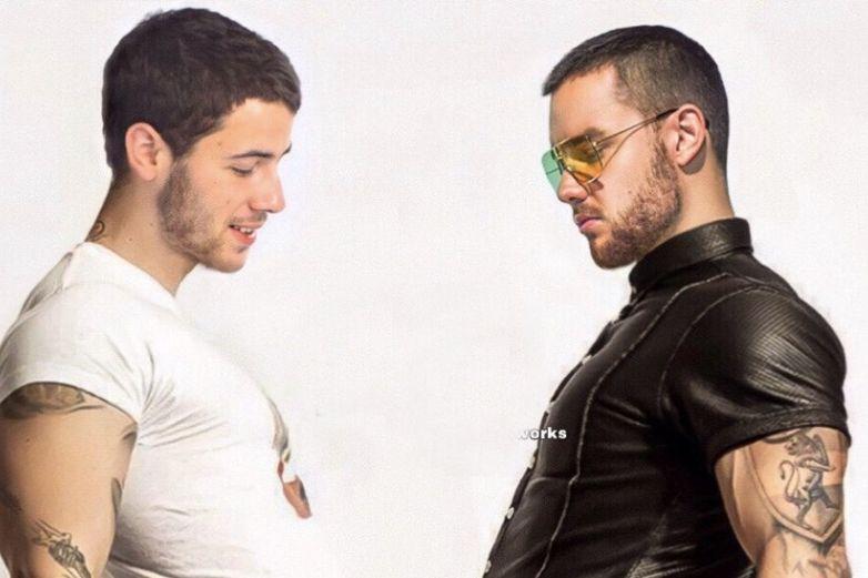 ¡Deseo cumplido! Circula en redes candente fotografía de Nick Jonas y Liam Payne