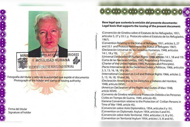 Avala senadora posibilidad de asilo a Julian Assange