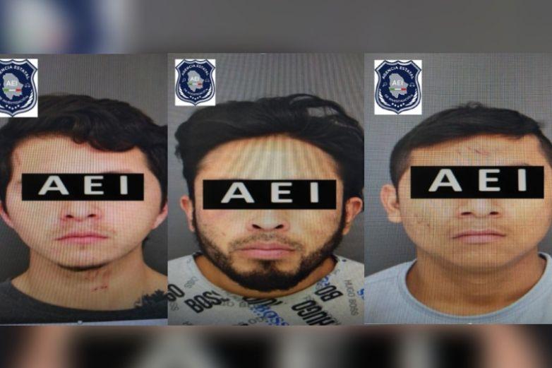 Arrestan a tres presuntos atacantes de policías estatales