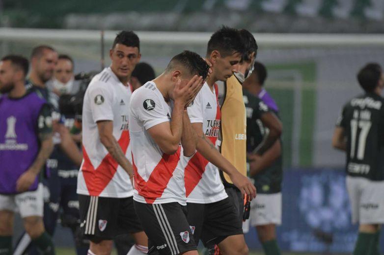 River a 1 gol de hazaña; Palmeiras a la final