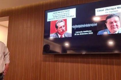 Denuncian 'fabricación de delitos' contra Maru Campos y César Jáuregui