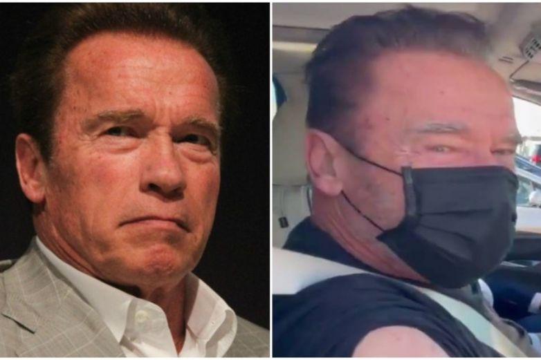 Arnold Schwarzenegger recibe vacuna contra Covid-19, se viraliza su reacción