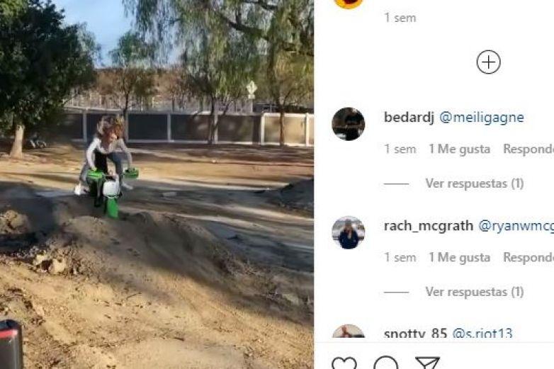 Cae de moto y se viraliza por levantarse como si nada