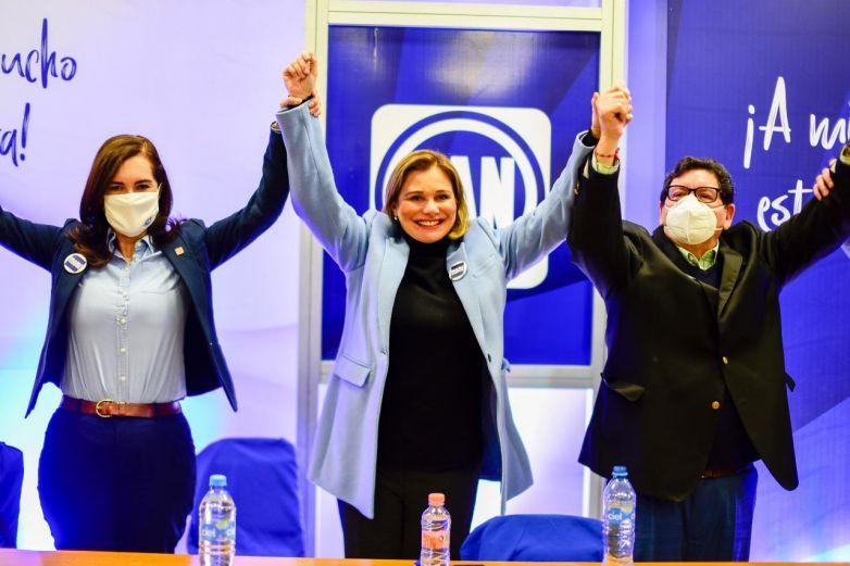 Asegura PAN que no podrán descarrilar candidatura de Maru Campos