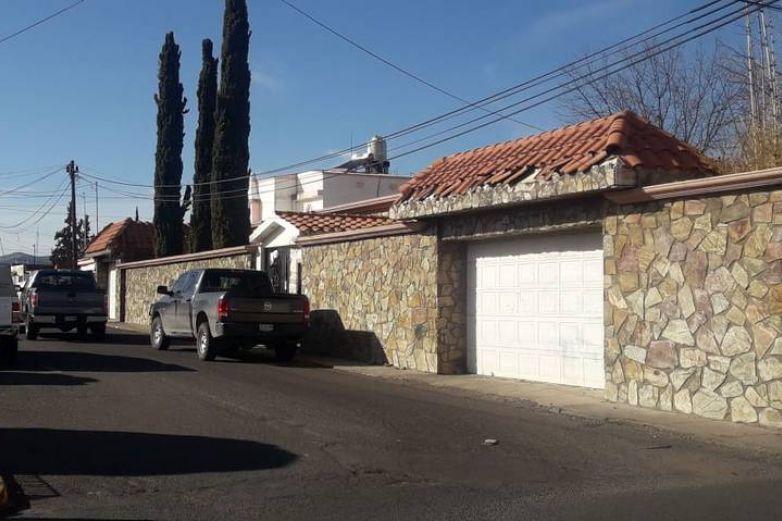 Roban casa de César Duarte en Parral
