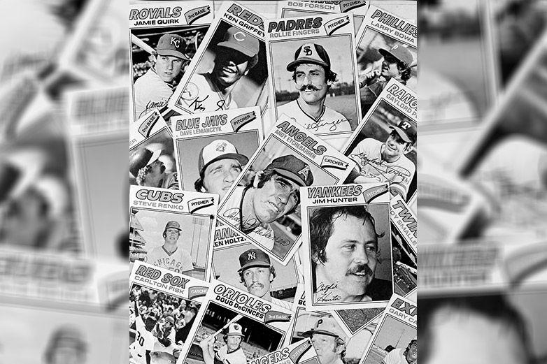 Associated Press   Tarjetas de peloteros de la época