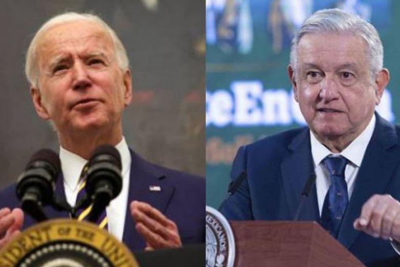 Se reúnen hoy virtualmente AMLO y Biden