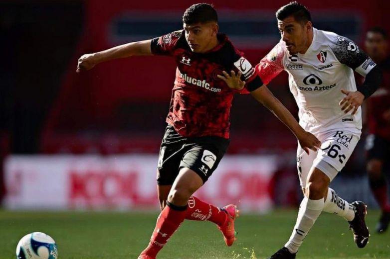 Empatan Atlas y Toluca sin goles