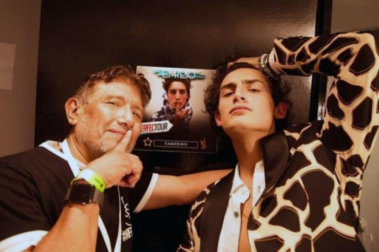 Juan Osorio revela que su hijo Emilio dejará de ser actor