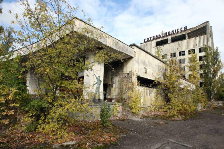 VIDEO: Descubren restos humanos en las calles Chernobyl