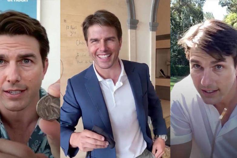 Estos son los videos virales del falso Tom Cruise