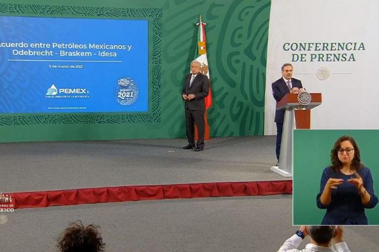 Reparará Odebrecht el daño a Pemex; llegan a acuerdo