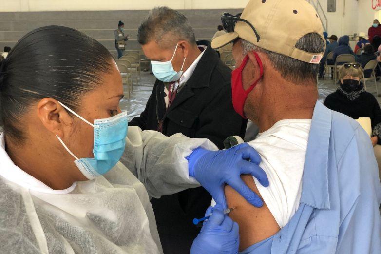 Aplicarán mañana segunda dosis de vacuna Covid en Parral