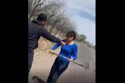 Video: Mujer ataca a perro y a su dueño le fractura el cráneo