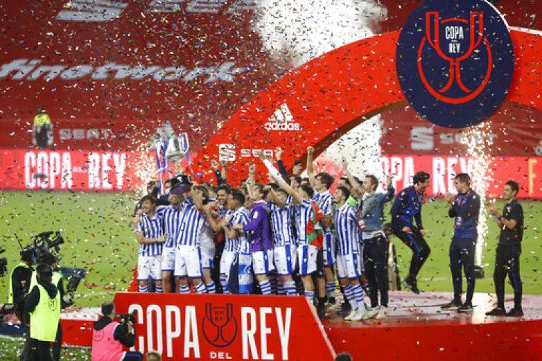 Es Real Sociedad campeón de la Copa del Rey