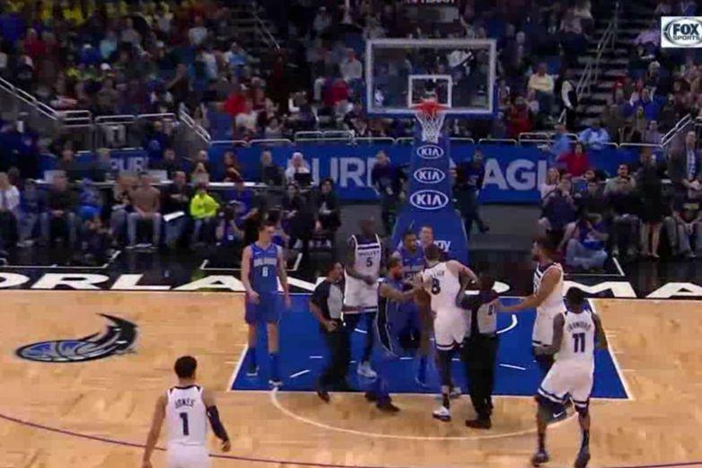 Escandalosa pelea entre dos figuras de la NBA