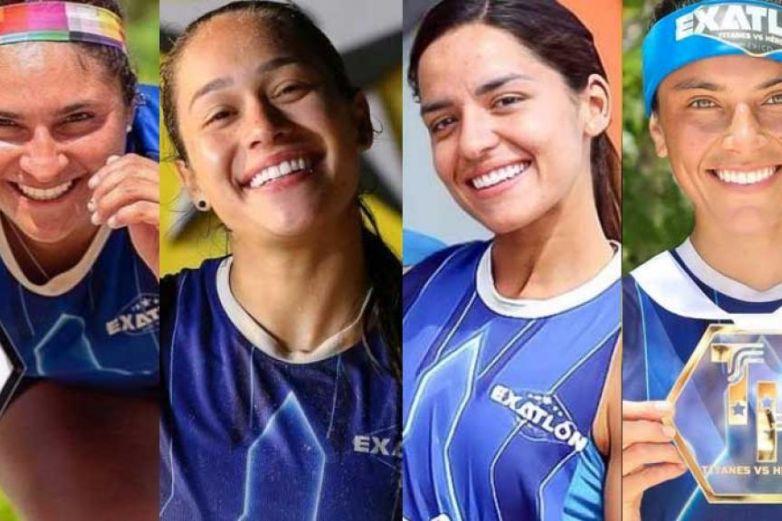 Atletas de Exatlón posan como 'Dios las trajo al mundo' (+Fotos)